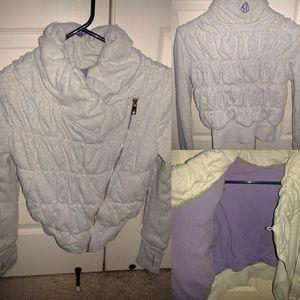Lululemon sweatshirt jacket - size 2